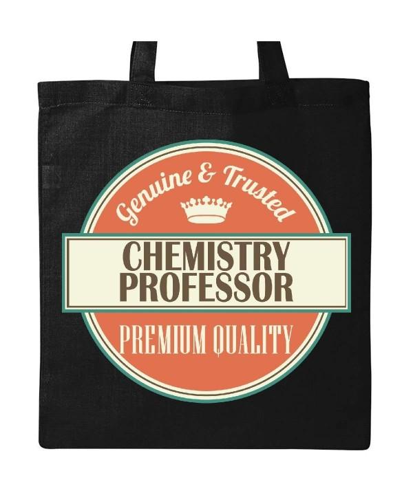 Inktastic Chemistry Professor Funny Black