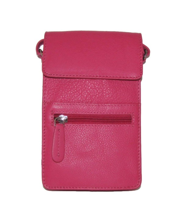 Bacci Leather Slim Cross body Handbag