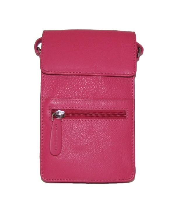 Bacci Leather Slim Cross body Handbag