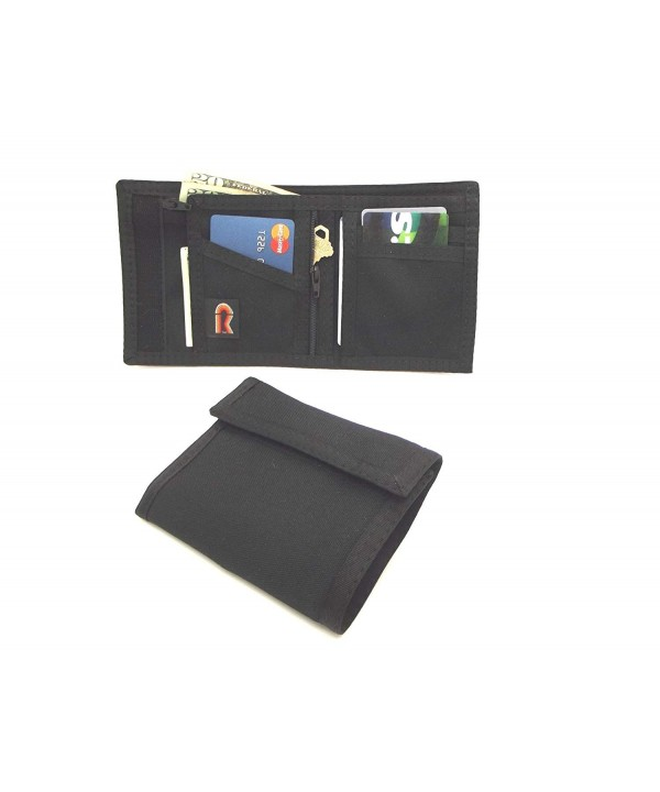 Bifold Wallet Zipper Pocket Blocking