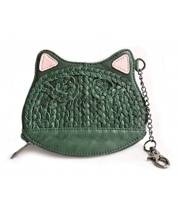 Poet Leather Kitten Around Wristlet