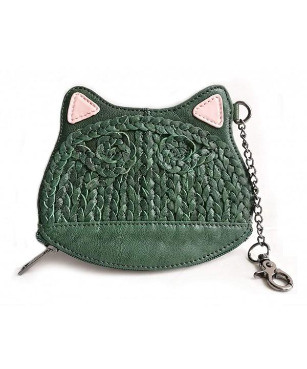 Poet Leather Kitten Around Wristlet
