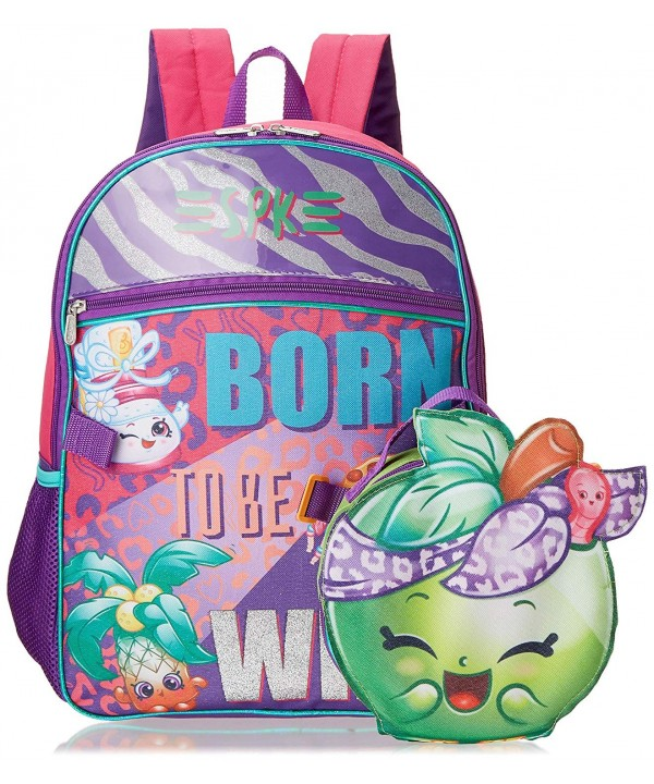 Moose Shopkins Backpack Shaped Lunch