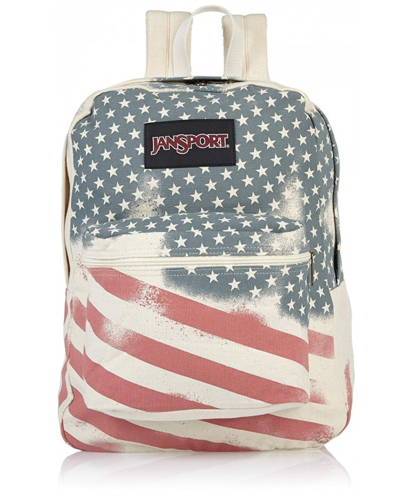 JanSport Unisex Super White Backpack