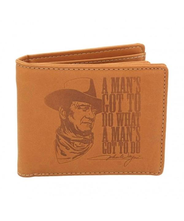 Official John Wayne Bi fold Wallet