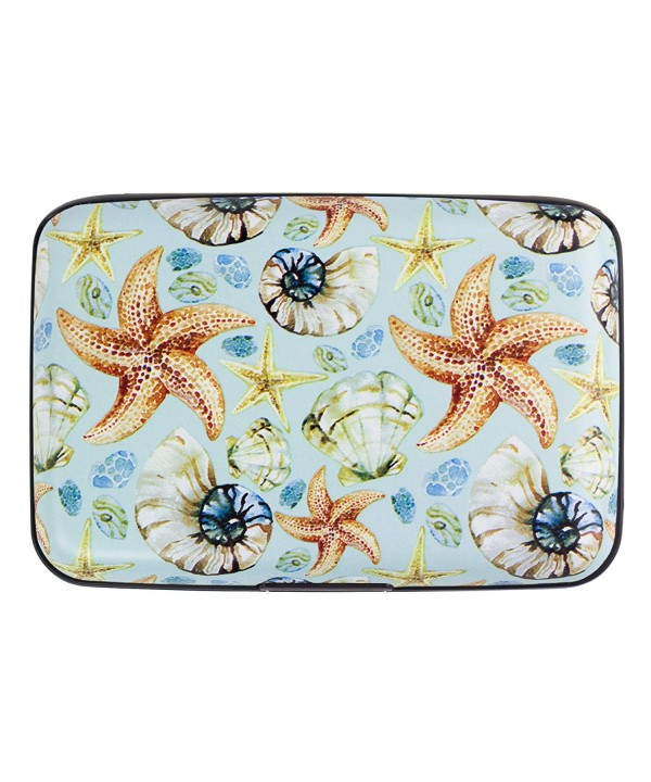 Seashell Armored Credit Blocking Wallet