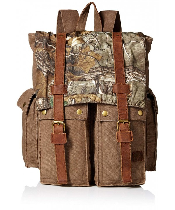 Real Tree Rugged Backpack Olive