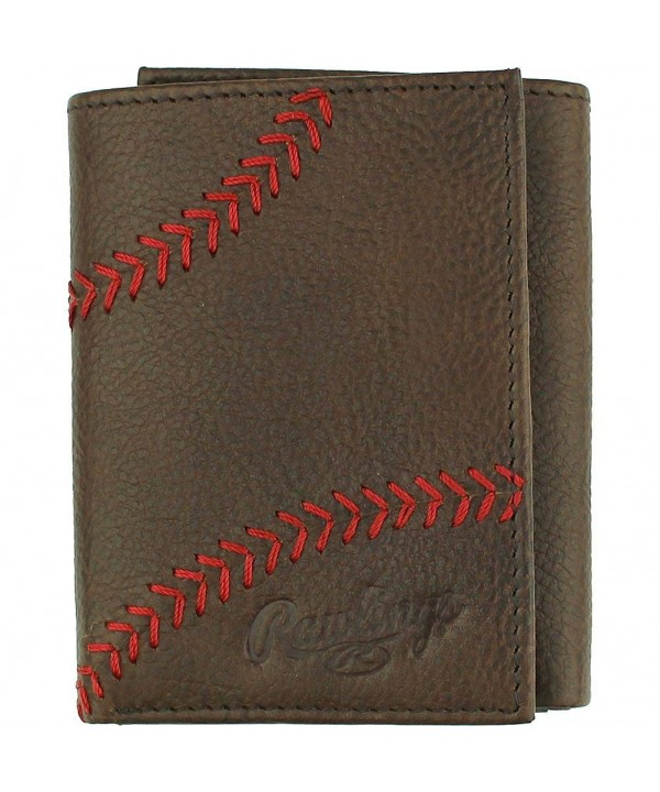 Rawlings Trifold Wallet Glove Brown