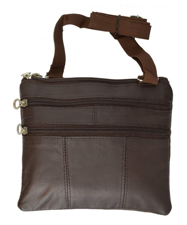 Zipper Leather Travel Shoulder Marshal