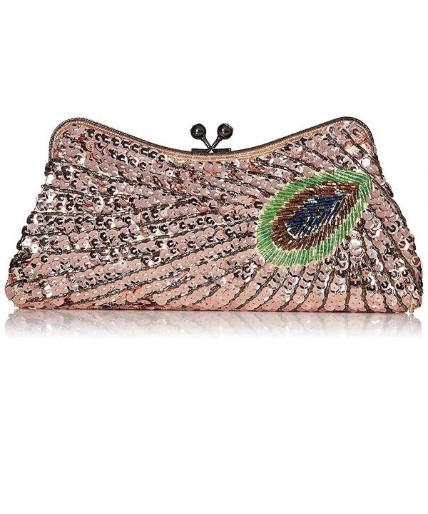 Kaever Womens Vintage Handbag Peacock