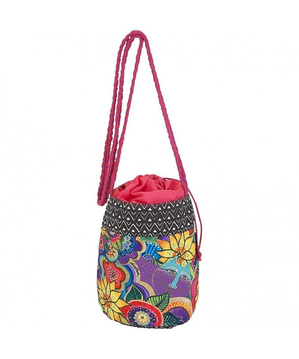 Laurel Burch Carlotta Drawstring Crossbody