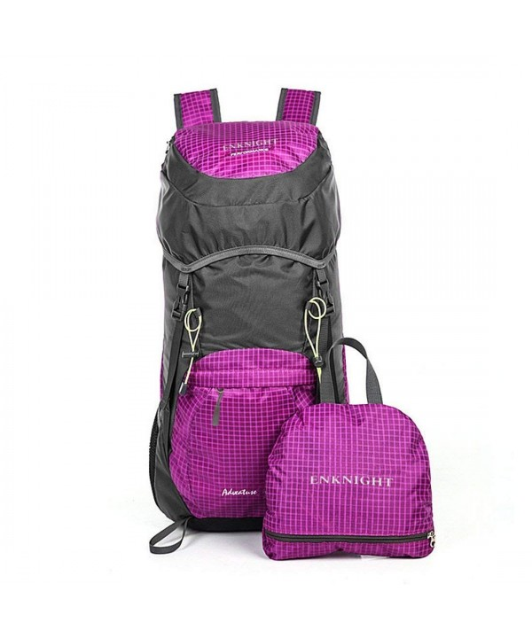 ENKNIGHT Lightweight Resistant Backpack foldable