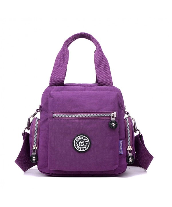 Tiny Chou Waterproof Top handle Strap Purple