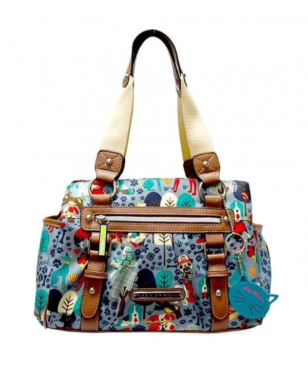 Lily Bloom Landon Section Satchel
