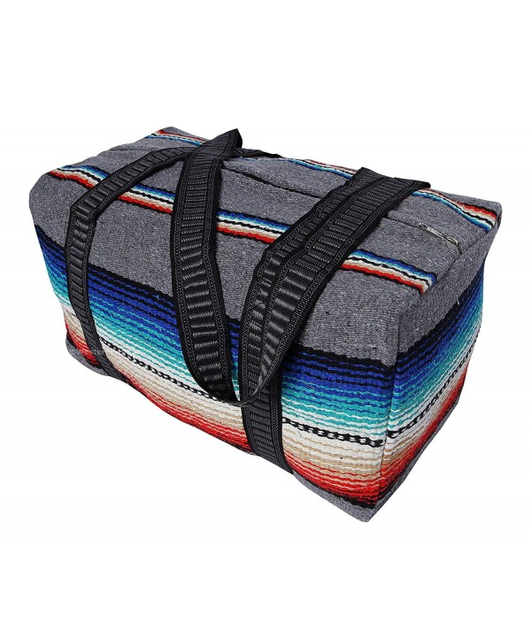 Serape Shoulder Duffel Mexican Design