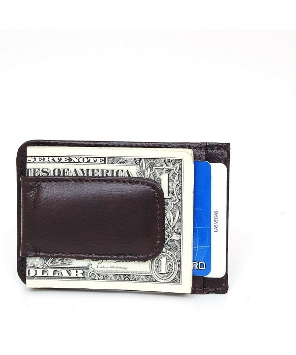 Leather Crafted Wallet Credit Magnetic