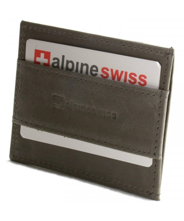 Alpine Swiss Genuine Leather Pocket