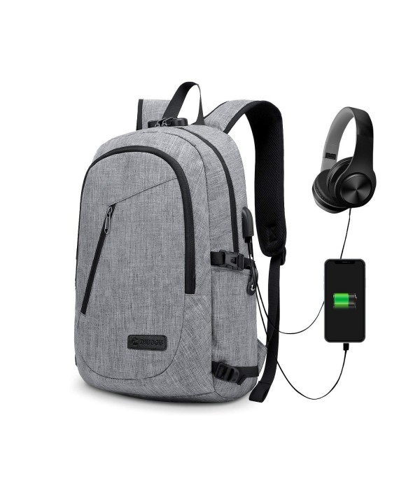 Anti Theft Backpack Business Charging Resistant