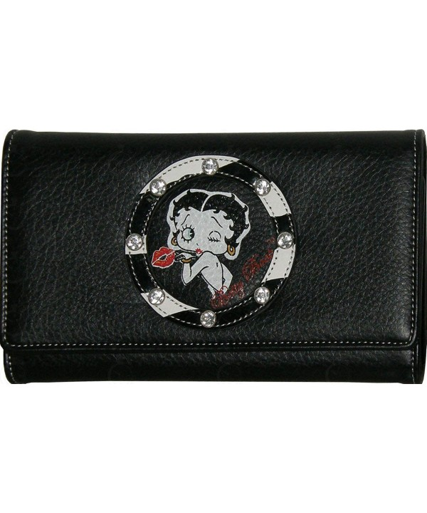 Betty Boop Designer Wallet Women
