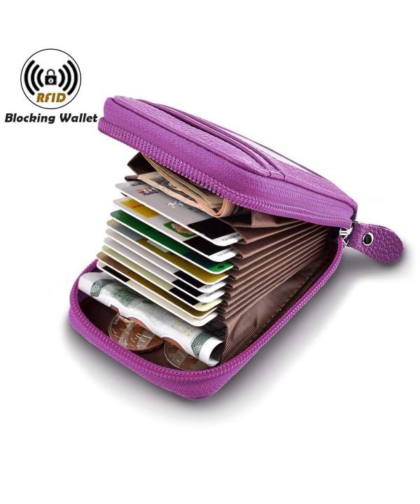 Wallet Ladies Leather Protector Genuine