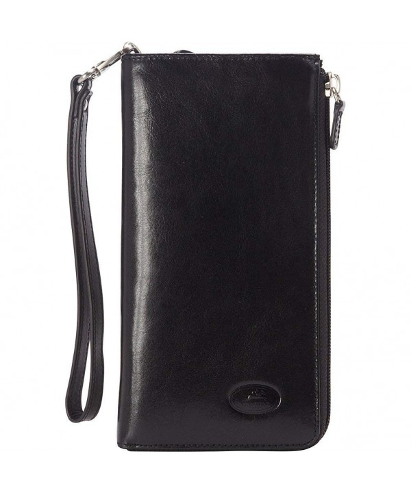 Mancini Leather Goods Ladies Clutch