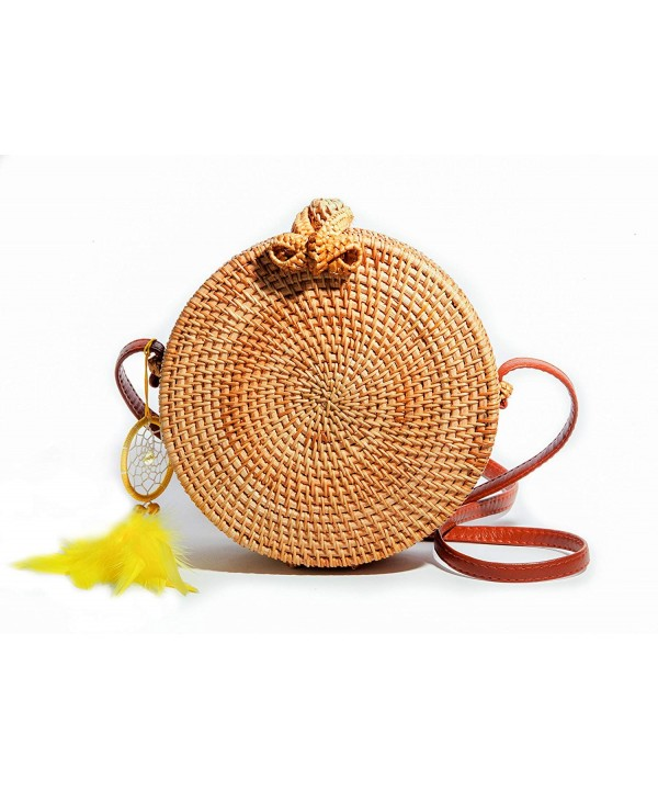 CraftsBrothers PREMIUM Handwoven Crossbody Shoulder