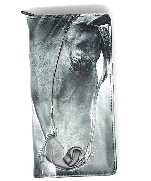 Womens Horse Wallet Portrait