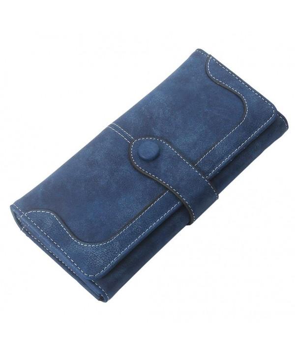 MAVERCE Fashion Wallet Bifold Leather