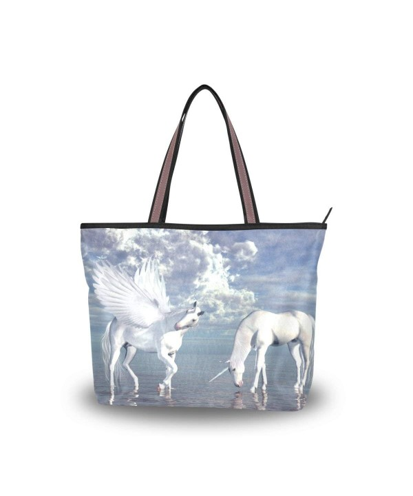 JSTEL Shoulder Unicorn Pegasus Handbag
