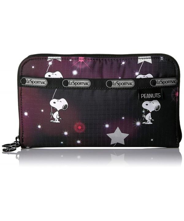 Peanuts LeSportsac Wallet Snoopy Stars