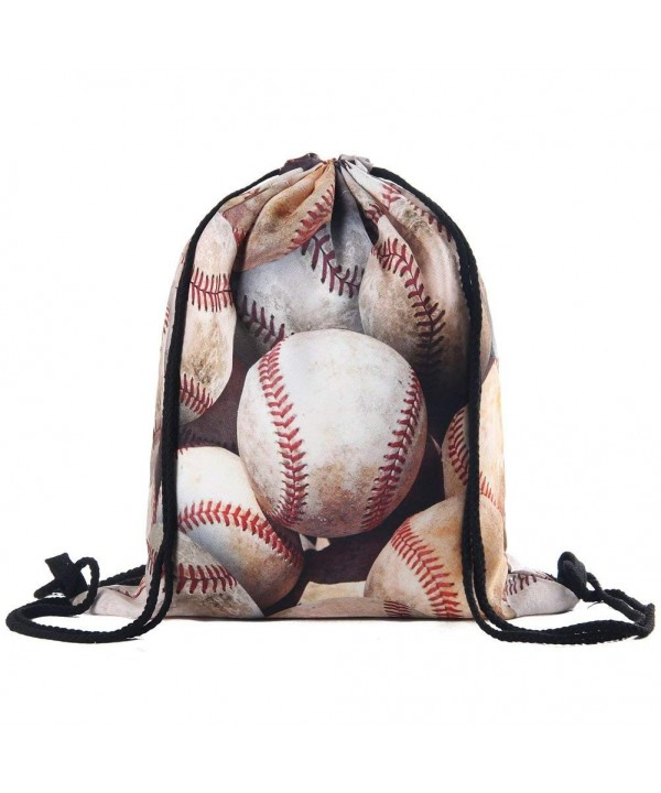 Polyester Drawstring Kids Inches baseball