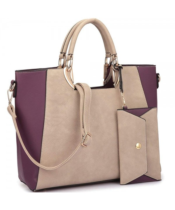 Handbag Structured Tote Satchel Purse