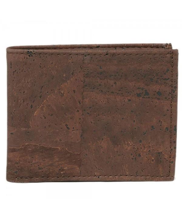 Cork Wallet Bifold Compact Designed