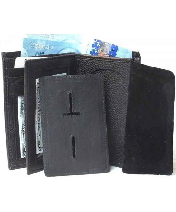 Genuine Leather Cowhide Wallet Firefighters