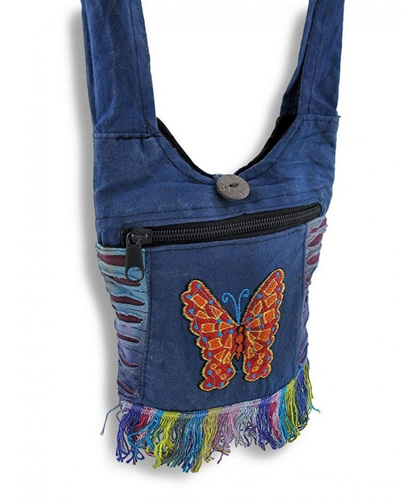 Colorful Cotton Butterfly Embroidery Fringe