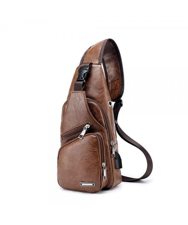 Shoulder Daypack Satchel Outdoor Charging