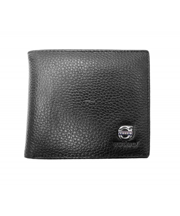 Volvo Leather Wallet Genuine Bifold