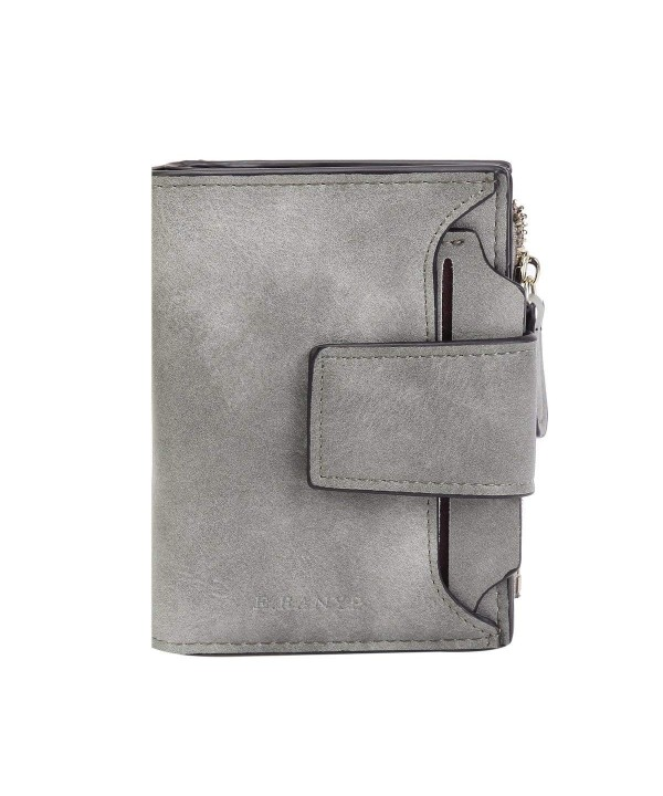 Damara Womens Leather Folded Wallet