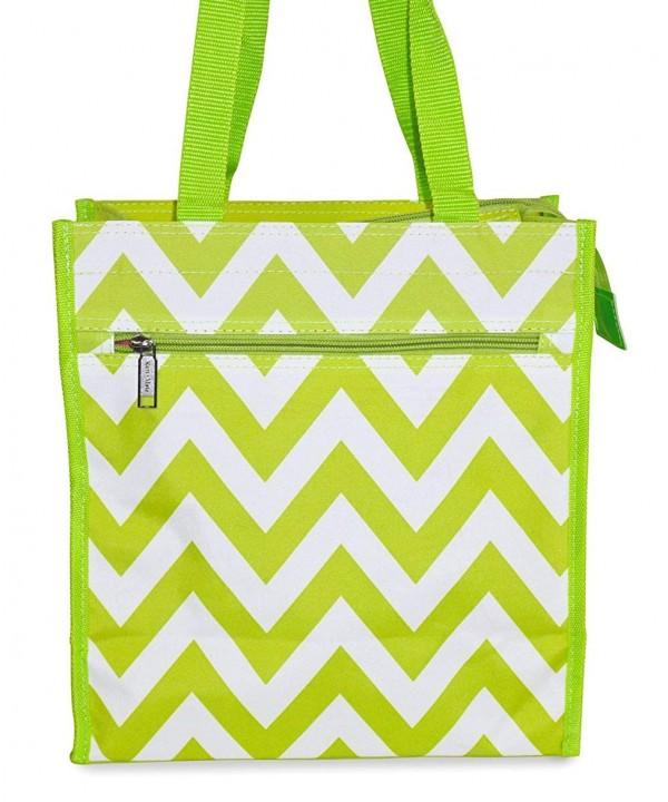 J Garden Chevron Tote Bag