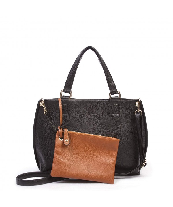 Overbrooke Reversible Crossbody Tote Black
