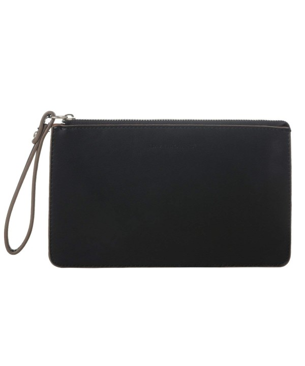 DAVID INTERNATIONAL Leather Wristlet Shoulder