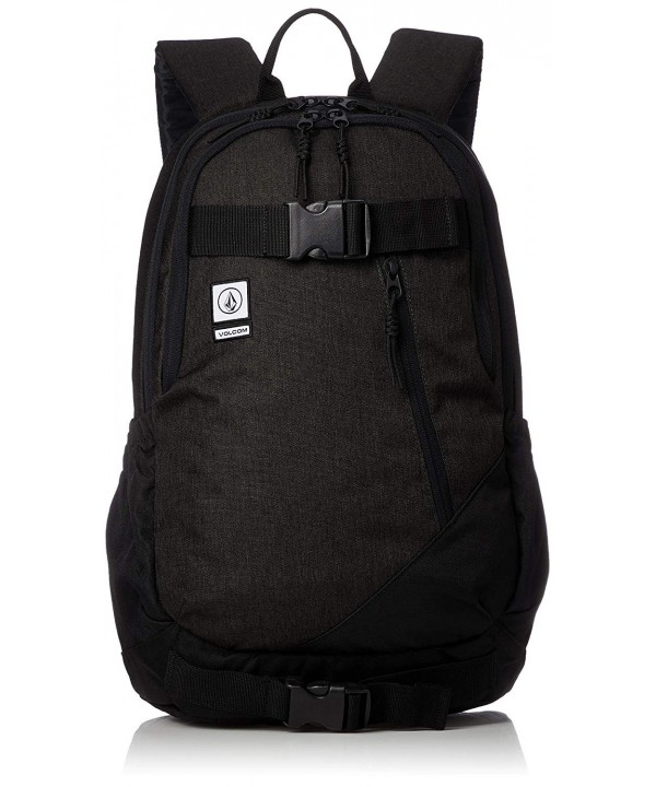 Volcom Mens Substrate Backpack Black