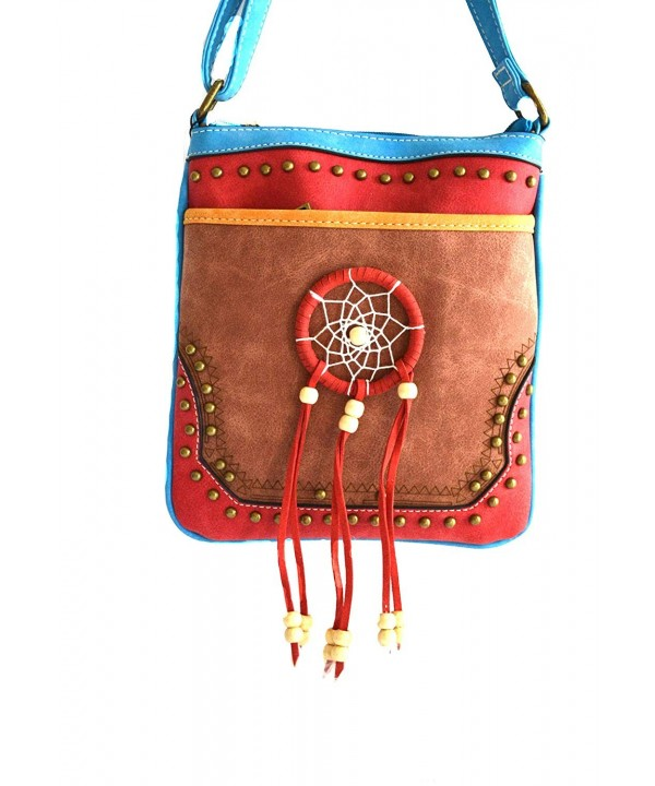 women dream catcher feather messenger