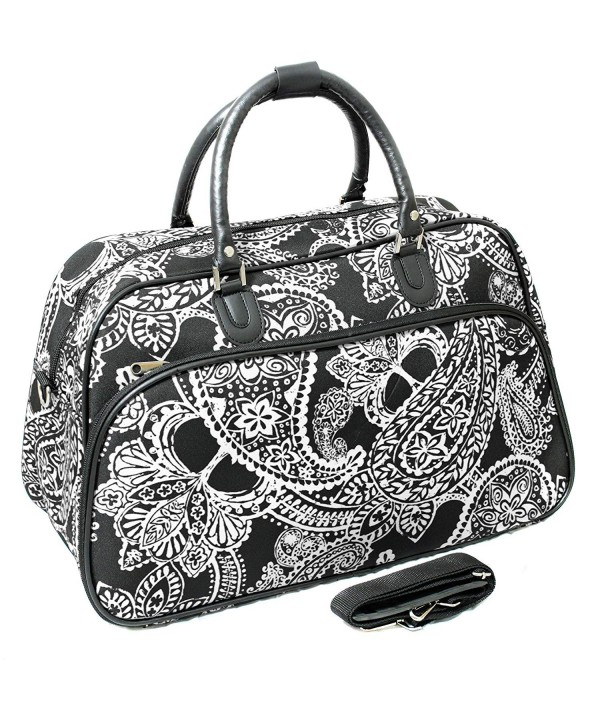World Traveler 21 Inch Shoulder Paisley
