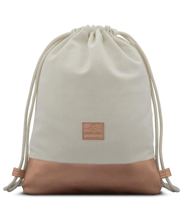 Johnny Urban Drawstring White Gymsack