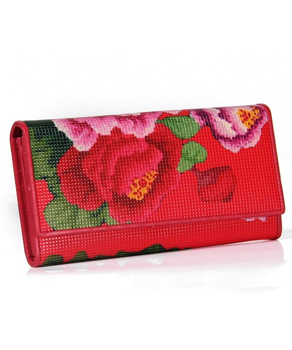 Contacts Genuine Leather Womens Clutch