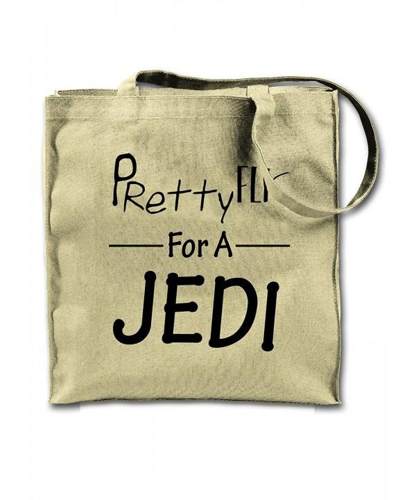 Pretty Jedi Funny Slogan Shoulder