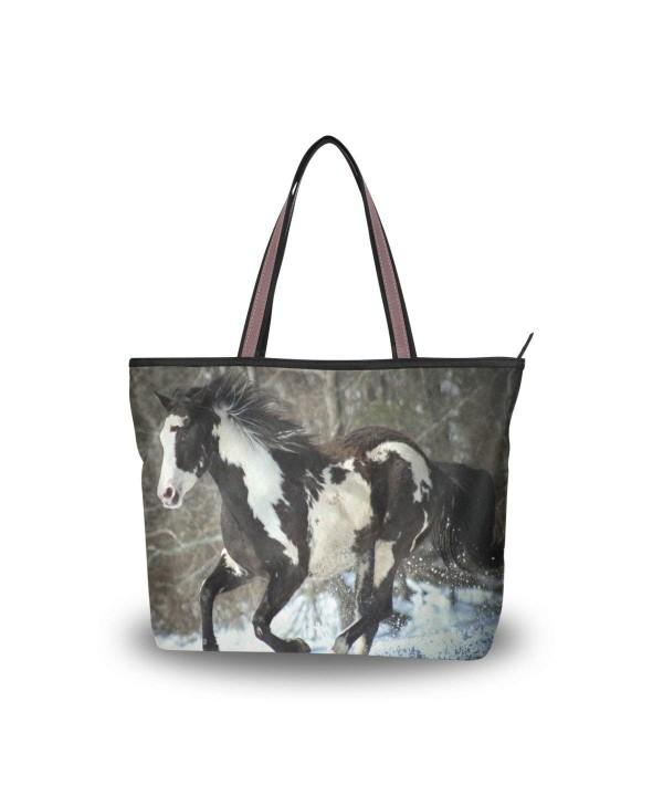 JSTEL Handle Shoulder Winter Handbag