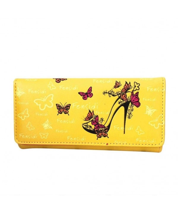 Start Butterfly Pattern Wallet Handbag