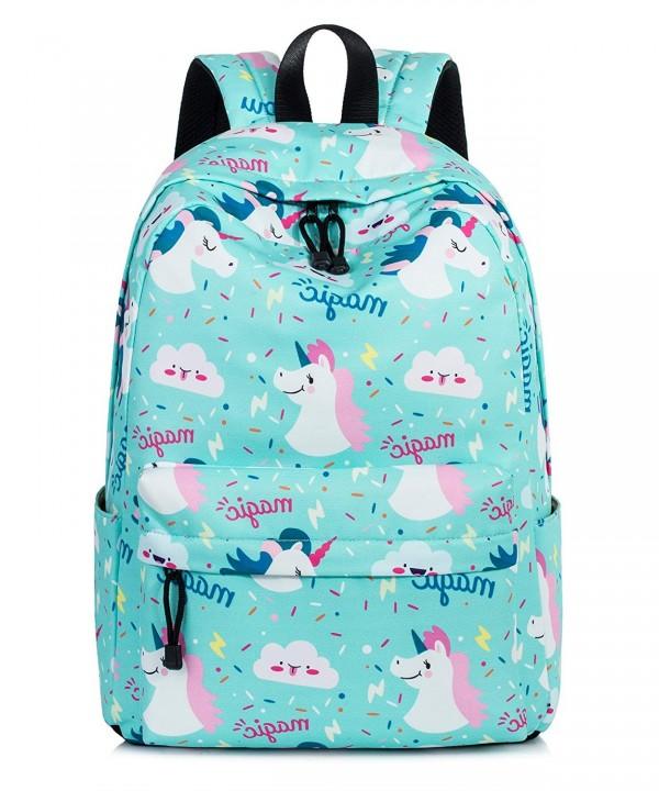 Unicorn Backpack Resistant Bookbags VOLINER